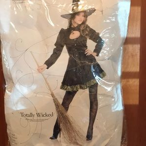 Totally wicked witch costume
